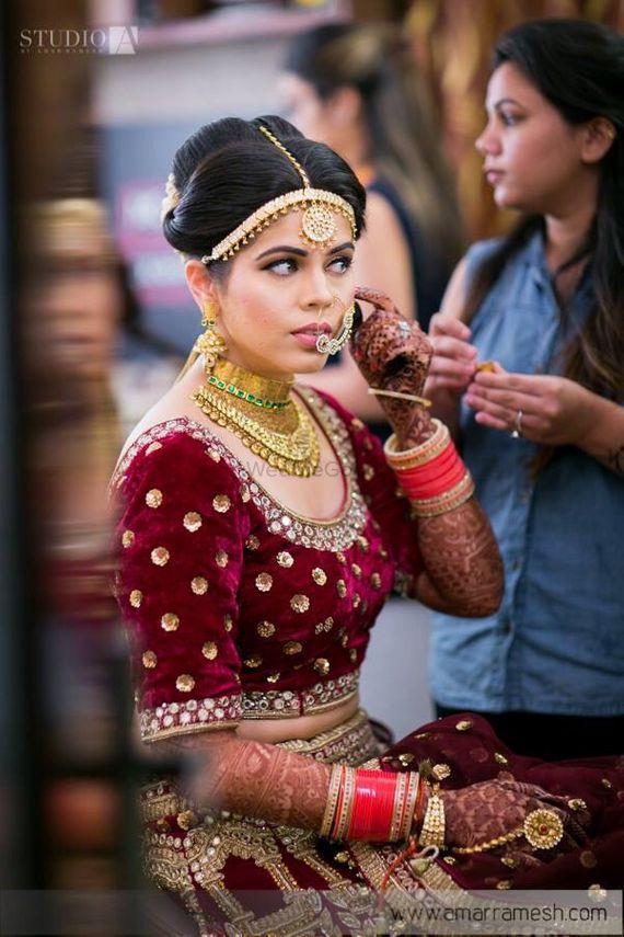portfolio of mehak kawatra makeup artist bridal makeup