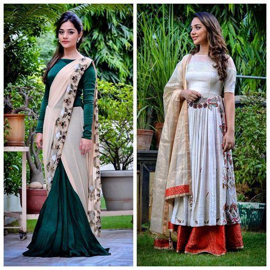 Photo of drape sari