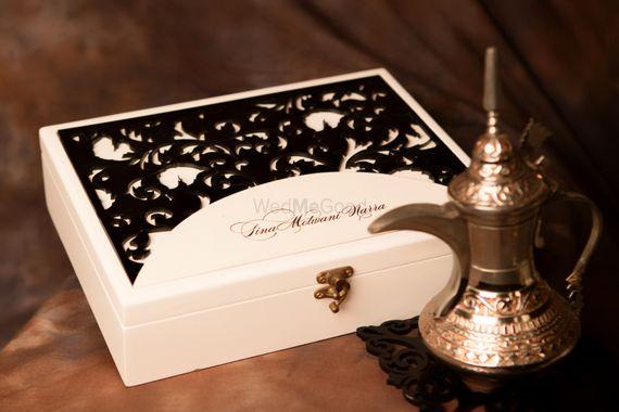 Photo of Wedding invitation box