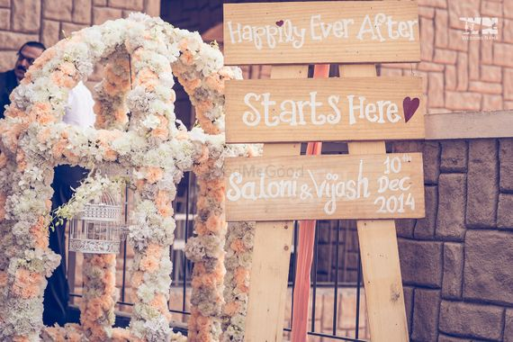 Photo of Rustic decor idea for happily ever after wooden board
