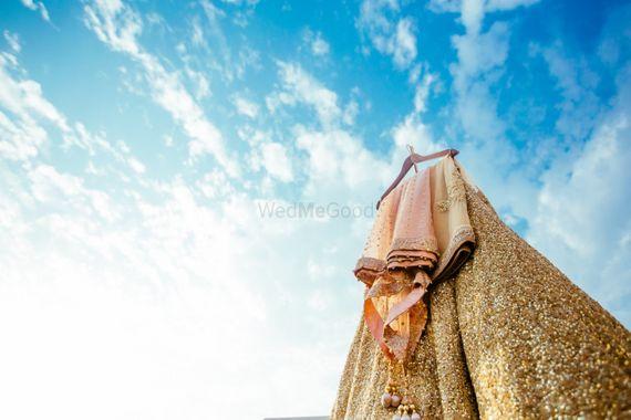 Photo of Pretty Hanging lehenga shot