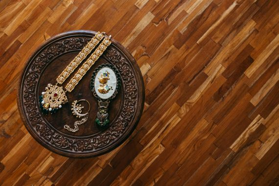 Photo of Bridal jewellery shot