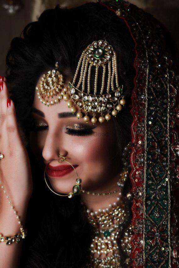 Stunning Muslim Bridal Makeup by Parul Garg