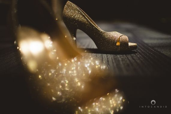 Photo of glitter shoes