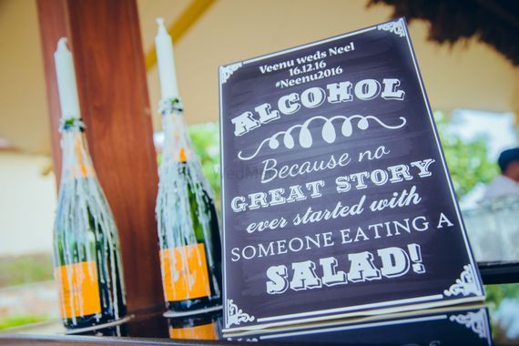 Photo of Alcohol quote for bar decor idea