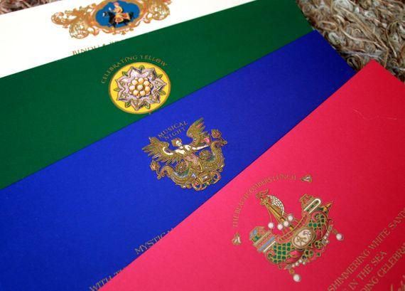 Photo of multicolored inserts