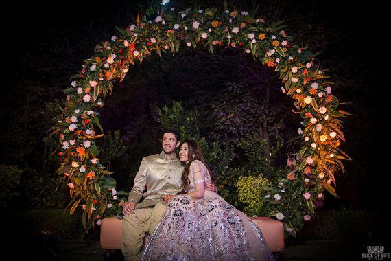 Photo of Engagement swing decor idea
