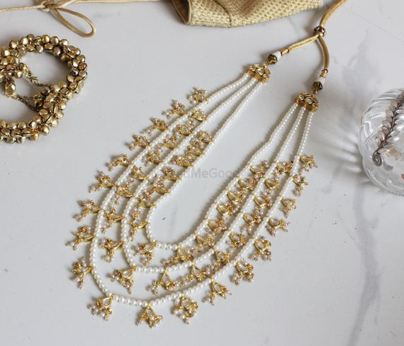 Photo of hyderabadi necklace