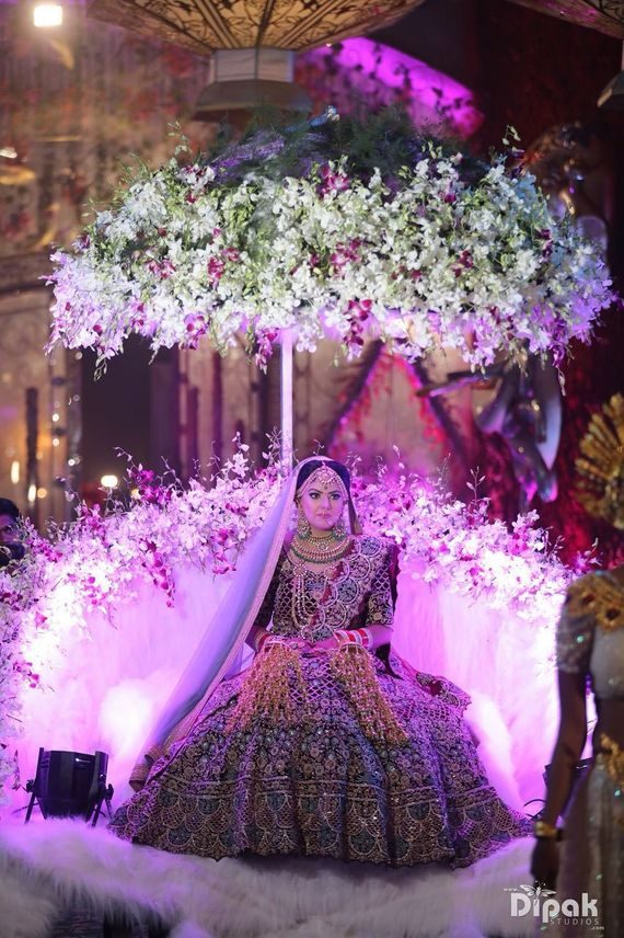 Photo of Grand bridal entry idea