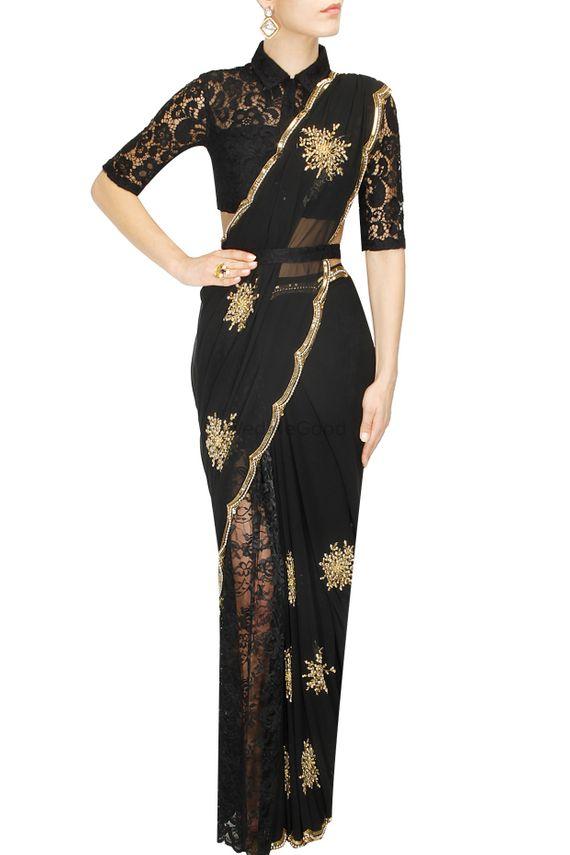 Photo of black saree