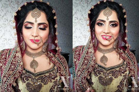 Hindu Wedding Bridal Makeover Xite Makeup Pictures