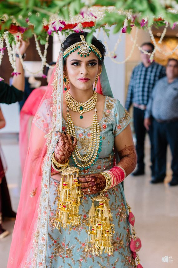 Photo of Offbeat bridal colour and kaleere