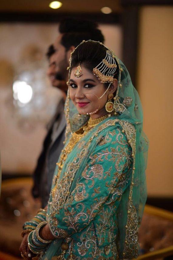 Beautiful Muslim bridal makeup