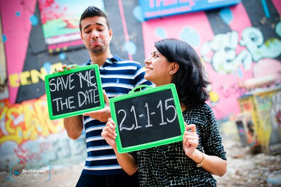 Photo of Fun pre wedding shoot