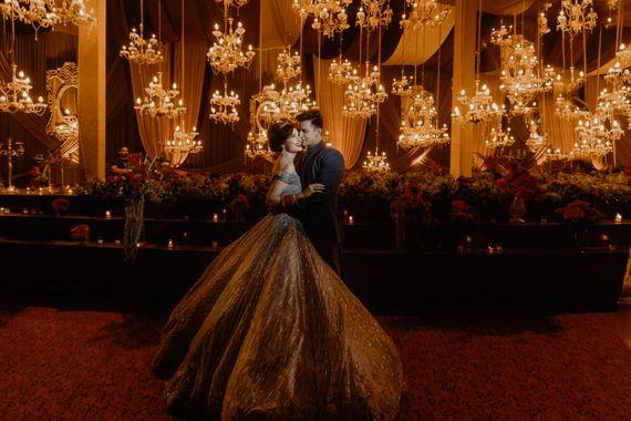 Photo of Stunning Yuvika Chaudary on her wedding day