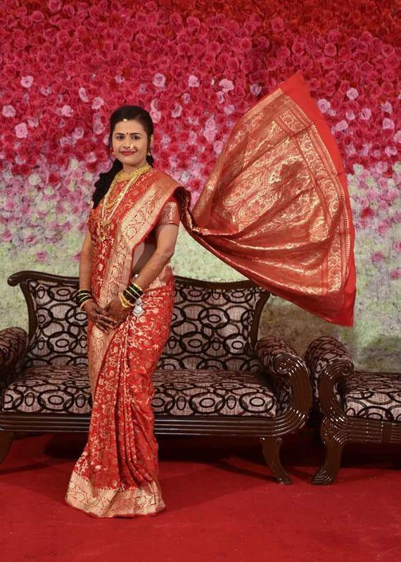 maharashtrian wedding look