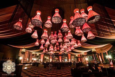 Photo of Ceiling decor idea with lamps