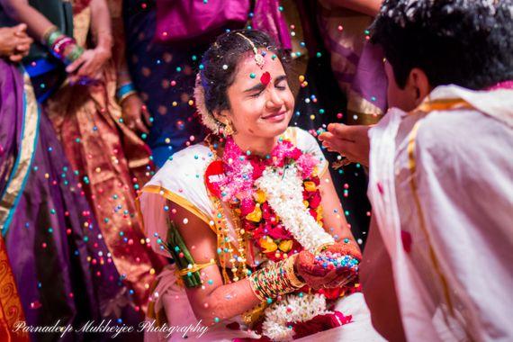 A Telugu Bride and A Oriya Groom