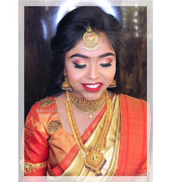 South Indian brides - Anush Ali's Makeup Artistry Pictures