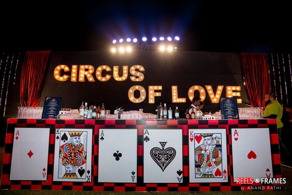 Photo of Casino or circus theme bar