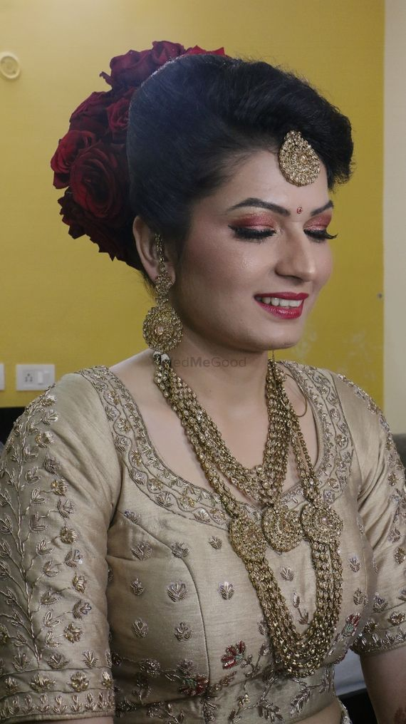 Kamna`s wedding - Makeup and Hair by Dave Sodhi Pictures | Bridal Makeup in Delhi NCR - WedMeGood