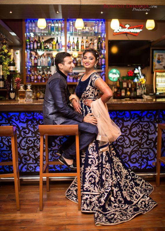 Photo of couple candid shot