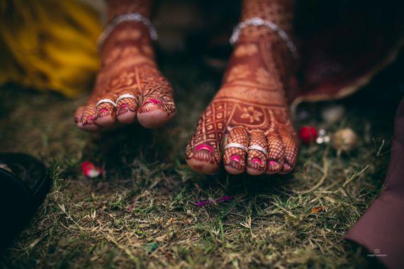 Photo of Feet mehendi shoot idea