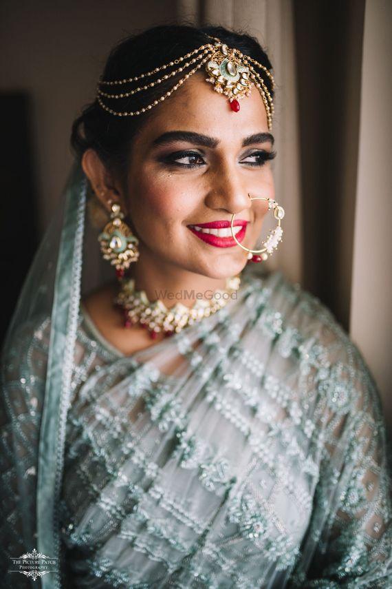 Photo of A happy bridal portrait shot!