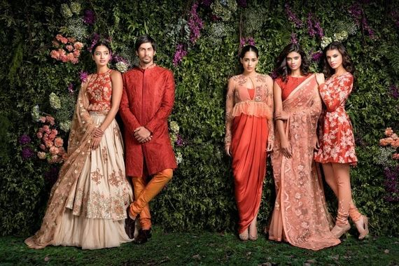 Photo of Cocktail outfits by Shyamal & Bhumika