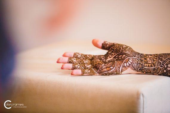 Photo of Bridal Hand Mehendi - Ambi Design