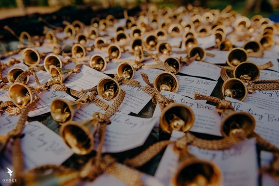 Photo of unique phera ideas for guests to ring bells
