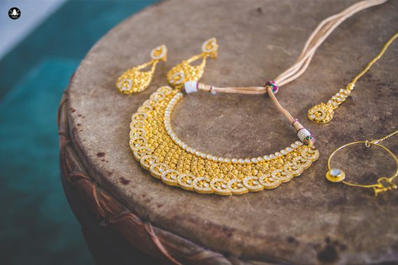 Photo of Gold Bridal Coins Necklace