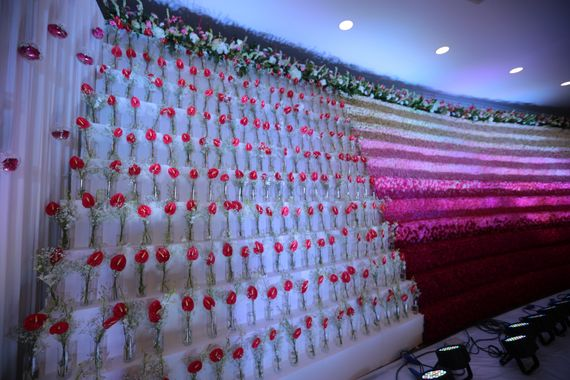 MRC - FLORAL WALL - Marriage Colours Pictures | Wedding