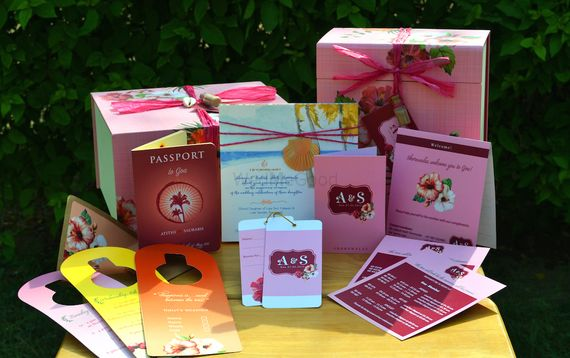 Photo of spring summer wedding boxes