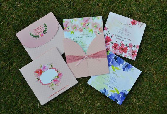 Photo of Wedding card inserts