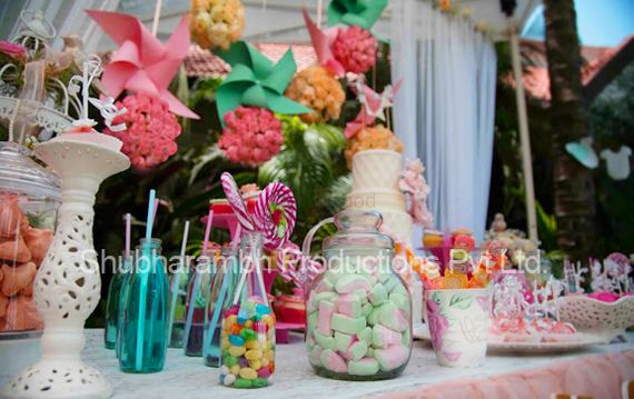 Photo of candy station on your engagement