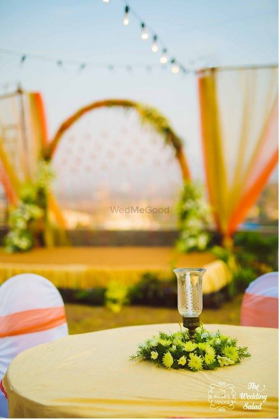 Photo of Candle Lit Table Decor