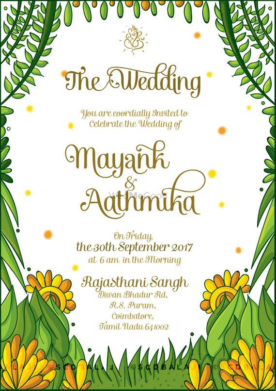 Maharashtrian (Marathi) Wedding Invite