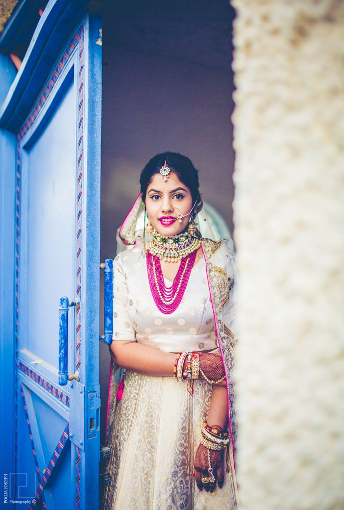 White Outfits  Photo white raw mango lehenga