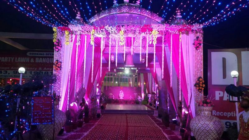 deep party lawn and banquet  indirapuram ghaziabad