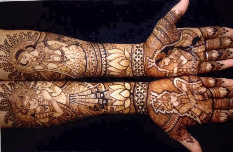 Bridal Mehndi Artist In Bangalore : Harin dalal bridal mehendi artist price reviews
