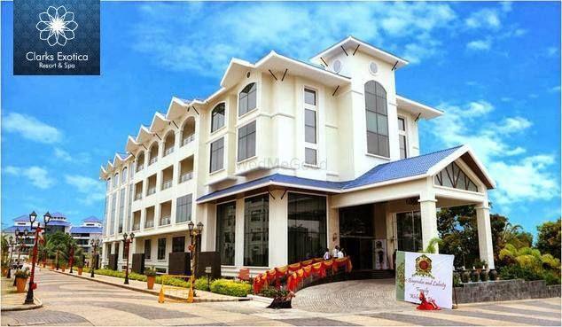 Desafío Apropiado abajo  Clarks Exotica Resort and Spa, Bangalore | Banquet, Wedding venue with  Prices