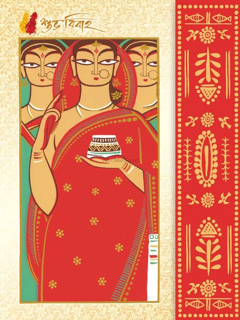 Bengali Wedding Cards Price Reviews Wedding Cards In