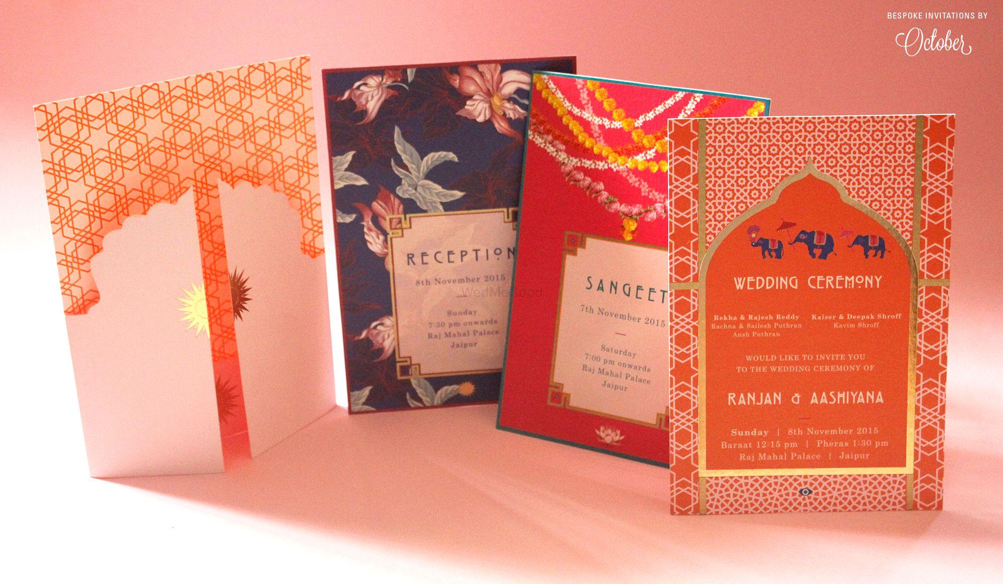 Best Wedding Invitation Cards - Designers in Mumbai