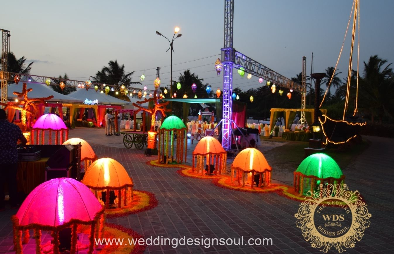 Best wedding decorators in goa prices info reviews wedding design soul 50 goa junglespirit Gallery