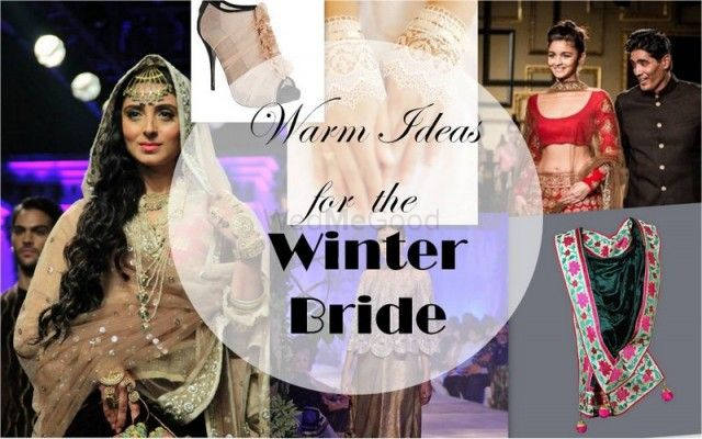 Fabulously Warm (& Stylish) Outfit Ideas for Winter Brides