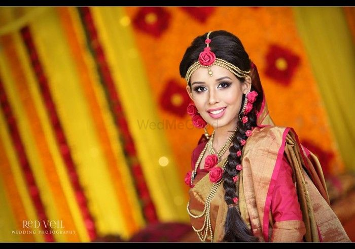 A Pink & Yellow Mehendi Event : Bride Zarneen