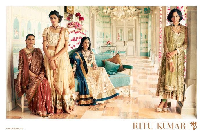 Ritu Kumar's Fall-Winter 2015 : It's All About Fitting Into The Family