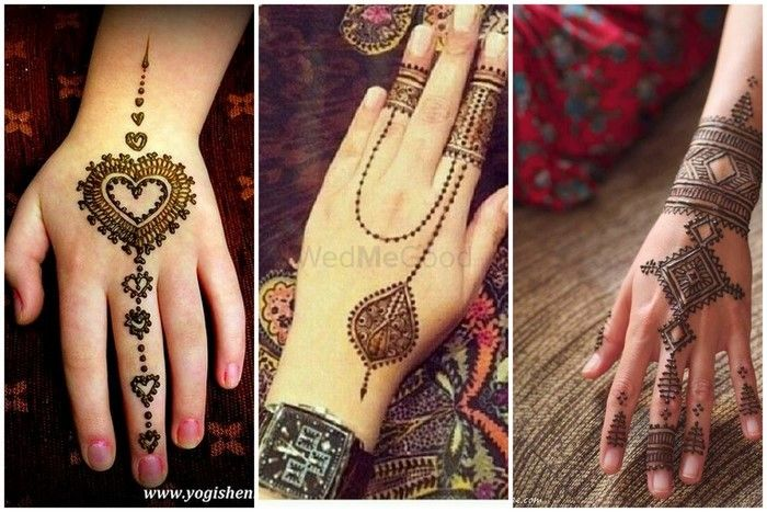 Trending: Mehendi that looks like Jewellery  ?