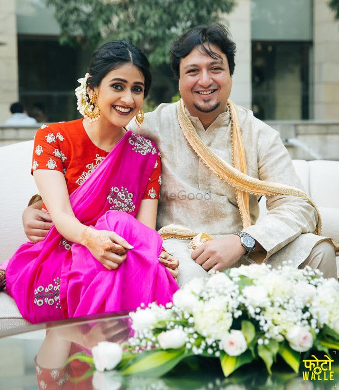 Blogger Shreya Kalra's Elegant & Intimate Engagement